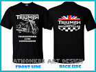 NEW TRIUMPH THUNDERBIRD 1700 COMMANDER NEW 2017 BLACK T-SHIRT $17.0 USD