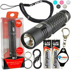 Klarus Mi7 Keychain LED Flashlight 700 Lumens w/ 2 Extra Energizer AA Batteries