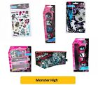 MONSTER HIGH - Stickers Pen Eraser Stationery Set Note Pad Kids Fun Gift Party