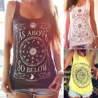 Nice Women Girl Summer Vest Top Sleeveless Blouse Casual Tank Tops T-Shirt