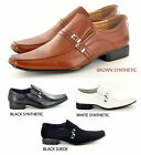 New Mens Casual Formal Slip on Wedding Shoes Comfort and Style UK 6 7 8 9 10 11