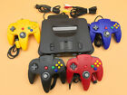 StoreInventoryn64 nintendo 64 console + up to 4 new controllers + cords + cleaned inside