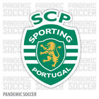 Sporting Clube Portugal Vinyl Sticker Decal Primeira Liga Football Soccer SCP