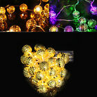 2/3m 20LED 30LED Morrocan Style Golden Ball Fairy String Light Indoor/Outdoor