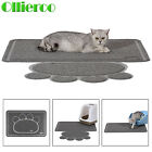 Ollieroo Premium Jumbo Size Cat Litter Mat Set - Pet Litter Mats for Cats, Dogs