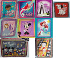 "Disney Fleece Throw Blanket Hand Tied 48"" x 60"" Disney Betty Boop Ariel Minnie $74.95 USD"