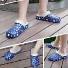 Men Clog Summer Croc Beach Shoes Hollow Out Sandals Hole Breathable New