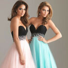 Women Long Maxi Chiffon Dress Formal Party Cocktail Prom Gown Wedding Dreses