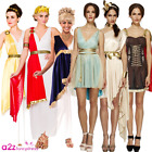 LADIES GREEK ROMAN GODDESS ATHENA HISTORICAL SEXY FANCY DRESS COSTUME OUTFIT