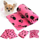Soft Warm Lovely Design Paw Print Pet Blanket Dog Cat Piggy Mat Puppy Bed Sofa