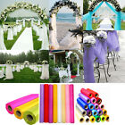 Romantic 10M/33F Organza Fabric Table Chair Swags Sheer Wedding Party Decoration