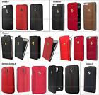 Ferrari Retail Pack Mobile Leather Cover Case I-phone 5/6/6+ Samsung Galaxy 4/5