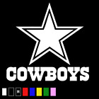 DALLAS COWBOYS Logo ~ Window DECAL * Vinyl Car STICKER ~ SUPERIOR QUALITY MS 090 on eBay