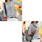 Tops Hot Selling O-Neck White Stripe T-Shirt Casual New Long Sleeve Women