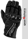 RST Stunt 2 CE Short Leather Glove Motorcycle Scooter Motorbike Gloves Sport