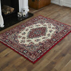 NEW LARGE X LARGE MODERN RUGS PERSIAN TRADITIONAL RED CREAM BEST QUALITY CARPETS