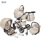 Baby Pram Travel System Buggy 3in1 Pushchair Car Seat Carrycot Stroller Newborn <br/> FREE DELIVERY &amp; RETURNS, FREEBIES