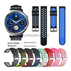 Replacement Soft Sport Silicone Watch Band Strap for Huawei Smart Watch 2 &1