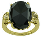 Black Spinel 7.90 Ct. Natural Ring Sterling Silver Authentic Lady Gift Jewelry