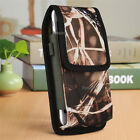 Camouflage Vertical Carrying Case Cover Pouch Bag Belt Clip Holster fr CellPhone