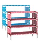 New Shoes Rack 4 Layers Shoe Storage Shelves Portable Stand Shelf Home Furniture