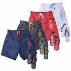 Mens Swim Shorts Smith & Jones Decible Mesh Lined Trucks With Free Flip Flops