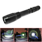 XML-T6 Flashlight 1200 Lumens 5-Mode Zoomable Torch Light Lamp Camping Portable