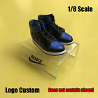 Shoes Box 1/6 Scale Storage Box Display Shoes Holder Clear Stand LOGO CUSTOM