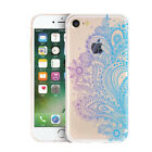 Printing Flower Ultra Thin Mandala Clear Soft Case Cove For iPhone 8 7 6s Plus