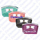New LADIES STRIPED TOILETRY BAG Wash Cosmetic Travel Make Up Assorted Colours ✔