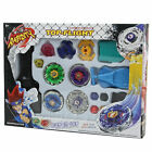 Metal Master Fusion Top Rapidity Fight Rare Beyblade 4D Launcher Grip Set New *#