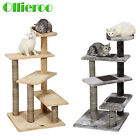 New Cat Tree Condo Furniture Pet Play House Tower Scratching Post Kitten Toy Bed