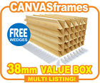 Canvas Stretcher Bars, Gallery Canvas Frames 38mm - CHEAP CLEARANCE