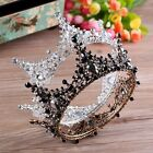 "Luxury 2 Colours Crystal Queen Crown Wedding Bridal Party Pageant Prom 5"" Wide"