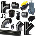 """Solvent Weld Waste Pipe & Fittings 1.25""""/36mm To 4""""/110mm For Ponds"""