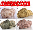 Clearance Sale 100% Silk Hand Embroidery Thread - Hand Dyed 1 Skein 50 Grams 10