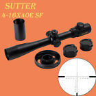 SUTTER 4-16X40E SF Large Hand Wheel With Lock Glass Etched Reticle Rifle Scope