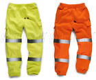 Standsafe Hi Vis Joggers / Jogging Bottoms Yellow or Orange High Viz HV021