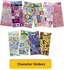 CHARACTER STICKERS (Arts/3D/Crafts/Reward/Foil/Disney/Pixar/Large/Small)