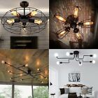 Industrial Vintage Castal Iron Ceiling Pendant Chandelier Lamp Light Shade Decor