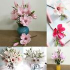 Artificial Fake Magnolia Blossom Silk Flower Hydrangea Home Wedding Garden Decor