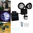22 LED Solar Powered Motion Sensor PIR Security Light Garden Garage Outdoor Lamp