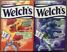 WELCH'S SINGLES TO GO DRINK MIX -- GRAPE & STRAWBERRY PEACH WATER FLAVOR PACKETS