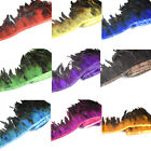 Hackle Cock Feather Fringe trims 1 to 10 yards Craft/Sewing/Costume
