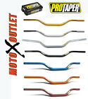 "PRO TAPER MX CONTOUR HANDLEBARS 1 1/8"" ATV PROTAPER HANDLE BARS CR KX YZ RM"
