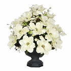House of Silk Flowers Inc. Artificial Magnolia with Cherry Blossoms