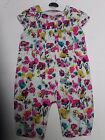 BABY GIRLS M & S Autograph playsuit romper outfit 0 - 3 months NEW floral
