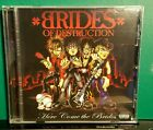 BRIDES OF DESTRUCTION: Here Come The Brides_CD/DVD DualDisc_One Disc Two Sides !