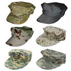 Men's Military Octagonal Hat Tactical Army Marine Corp Combat Cap Camouflage Hat