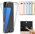 Full TPU Case für Samsung iPhone Schutz Hülle Handy Tasche Transparent Cover